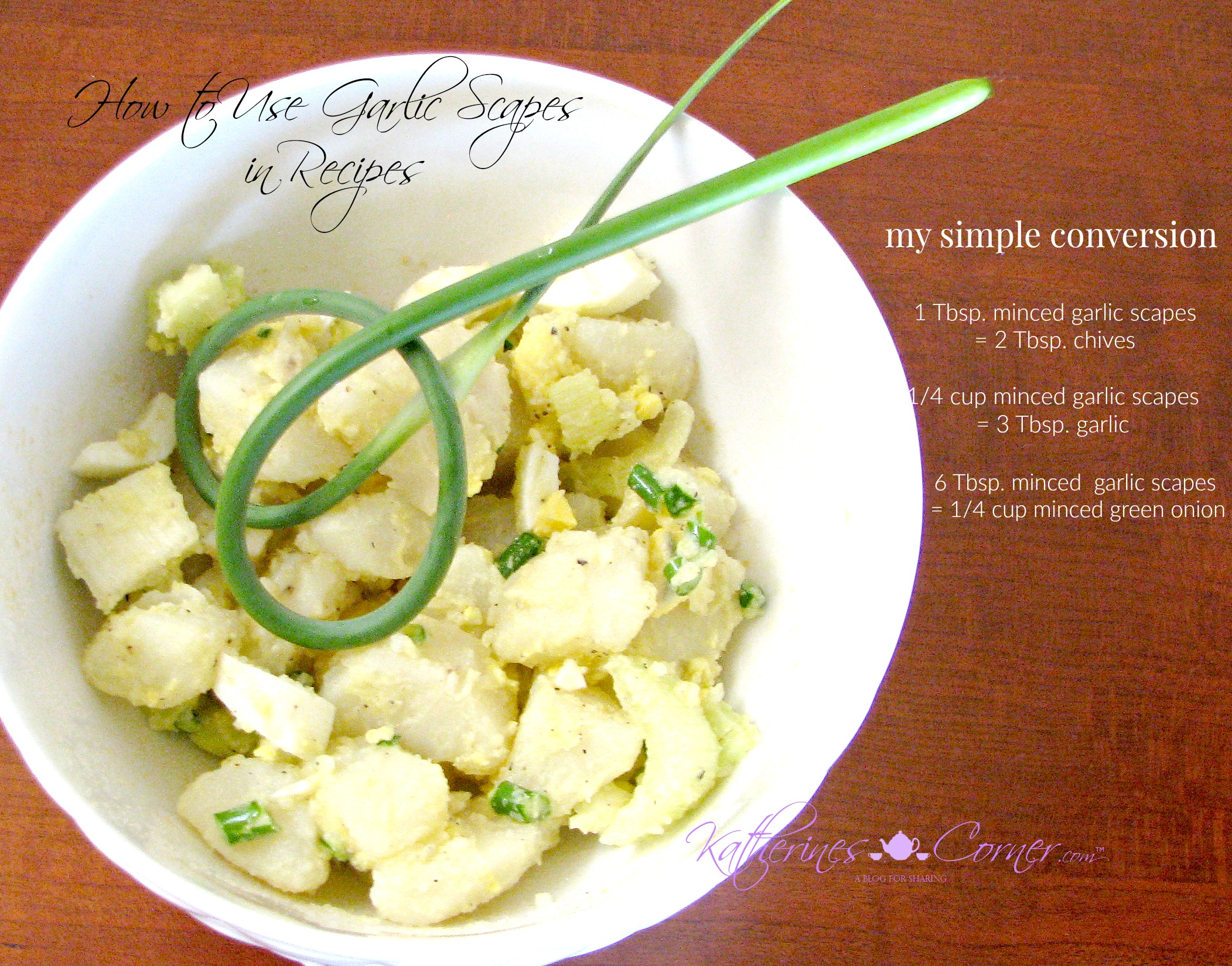 How to Use Garlic Scapes in Recipes