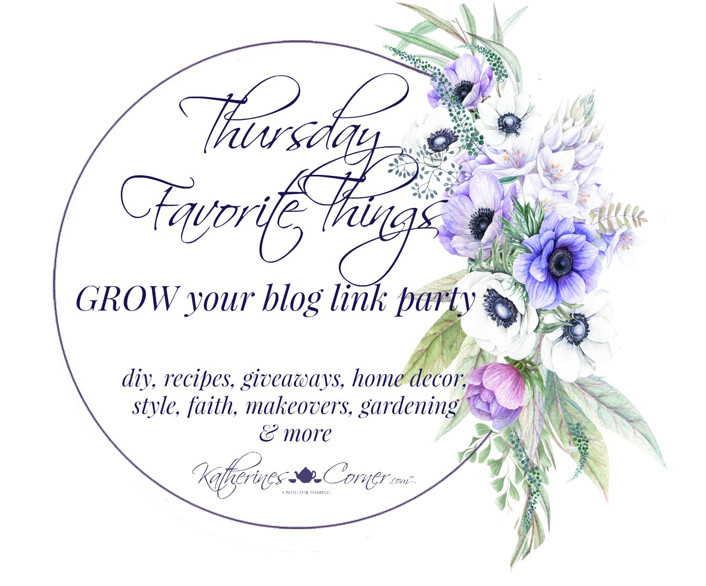 I think I Can Do That Thursday Favorite Things Link Party