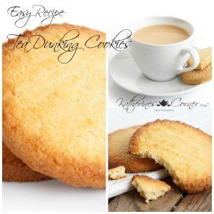 Tea Dunking Cookies