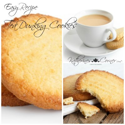 Tea Dunking Cookies