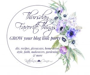 Blue Bird Day Thursday Favorite Things Link Party