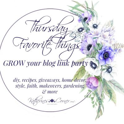 Under Construction Thursday Favorite Things Link Party