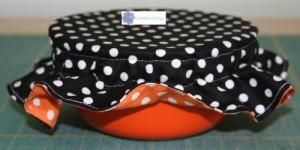 diy how to make a bowl bonnet