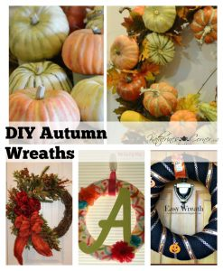 Autumn Wreaths Monday Inspirations