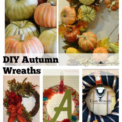Autumn Wreaths Monday Inspirations