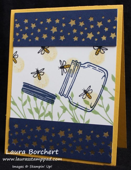 thursday favorite things fireflies greeting card