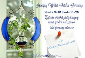 Hanging Water Garden Giveaway