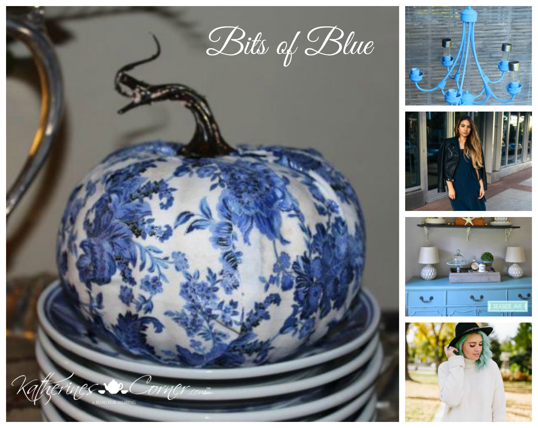 Bits of Blue Monday Inspirations