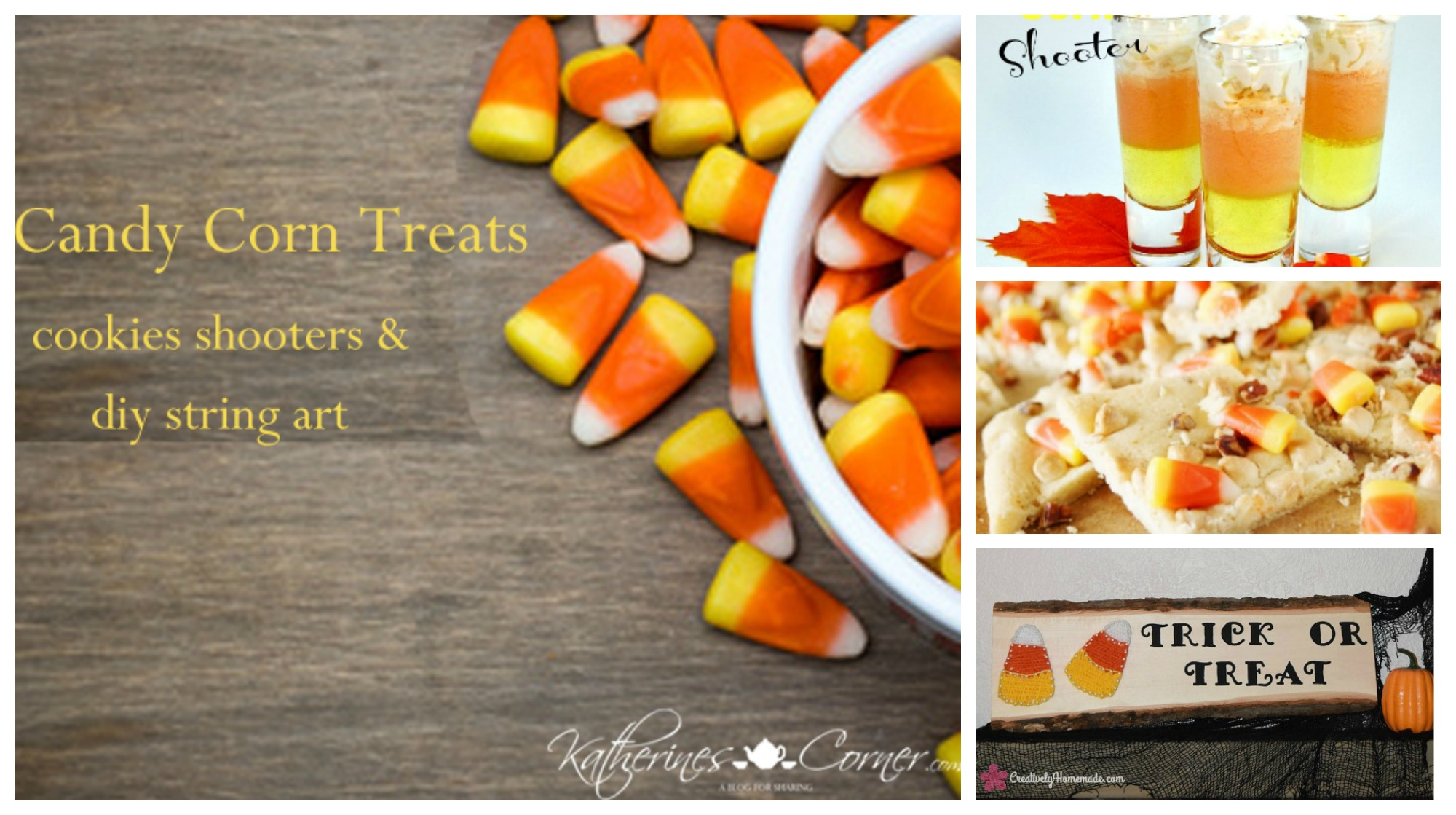 Candy Corn Treats Thursday Favorite Things Link Party