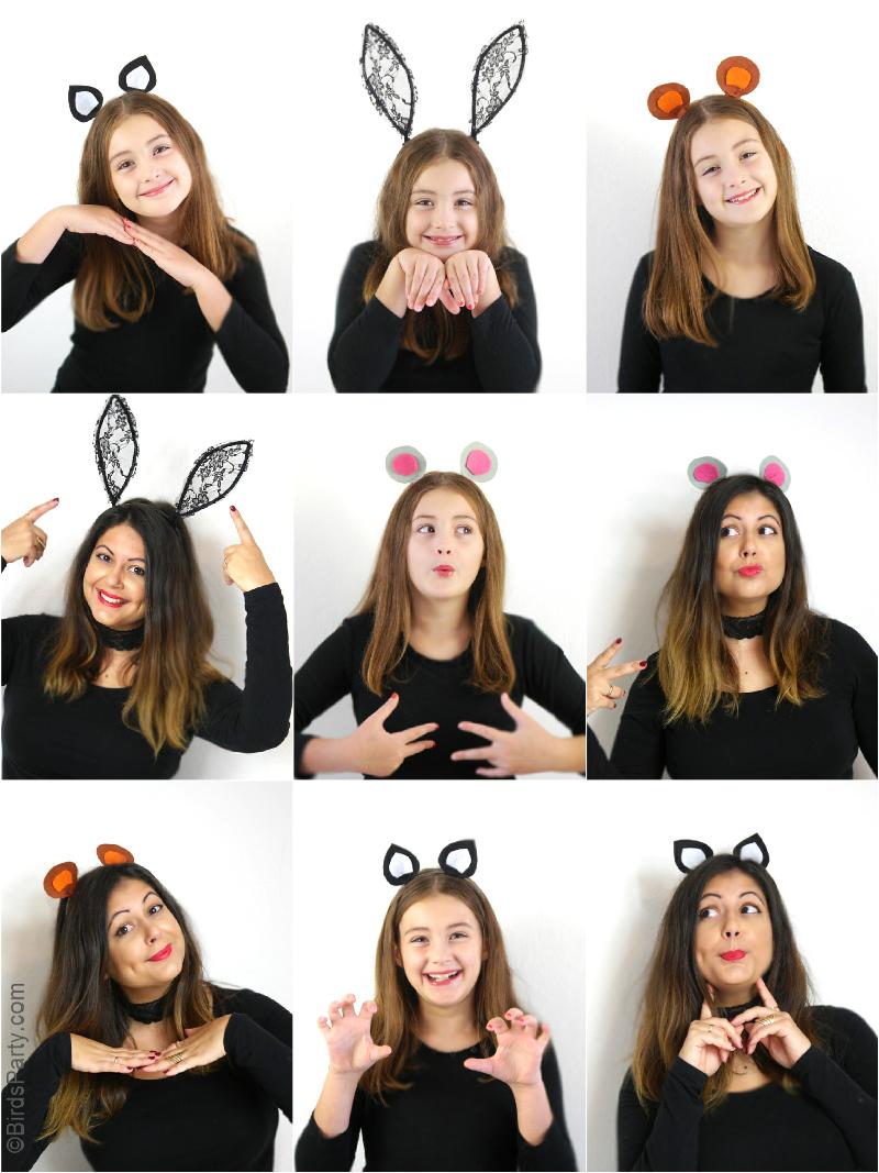 diy ears for halloween costumes