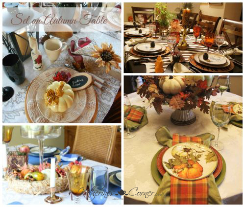 Set an Autumn Table