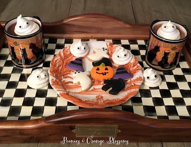 diy halloween ghost treats