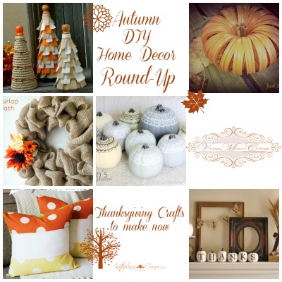 Autumn DIY Home Décor Round-Up