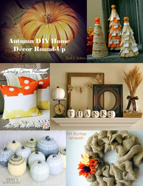 diy autumn home decor