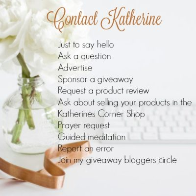 contact katherine at katherines corner