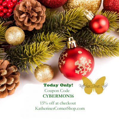 Cyber Monday at Katherines Corner