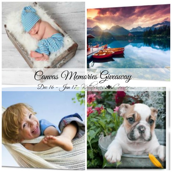 Canvas Memories Giveaway