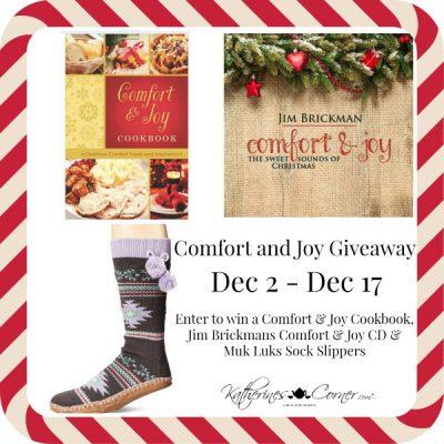 Comfort Joy Giveaway