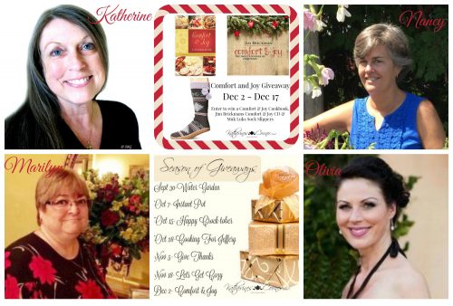 comfort and joy giveaway hostesses