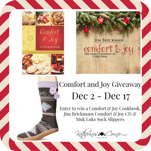 comfort and joy giveaway