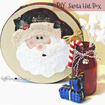 DIY Santa Hat Box