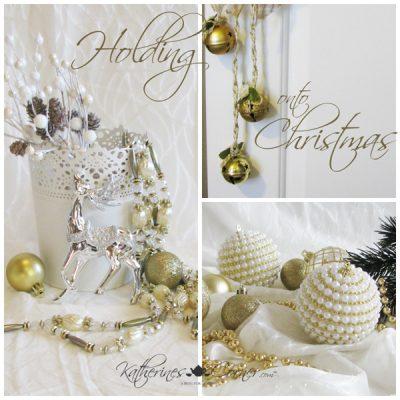 Holding onto Christmas