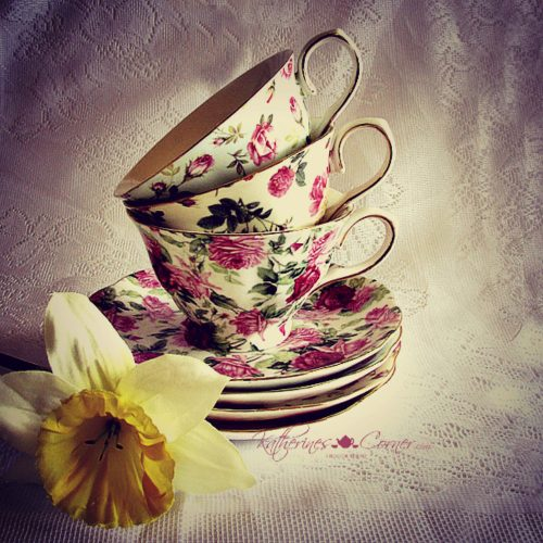 stack of teacups by katherines corner
