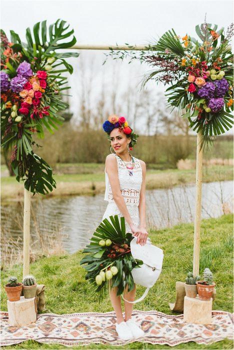 Mexican Bridal Photo Shoot