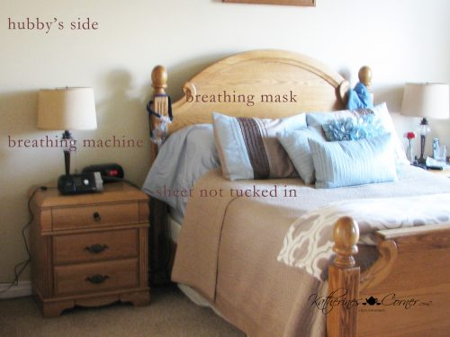 hubby side bed