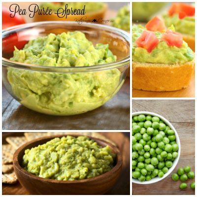 easy pea puree spread