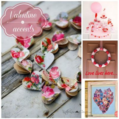 Valentine Accents Monday Inspirations