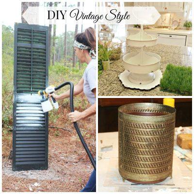 DIY Vintage Monday Inspirations
