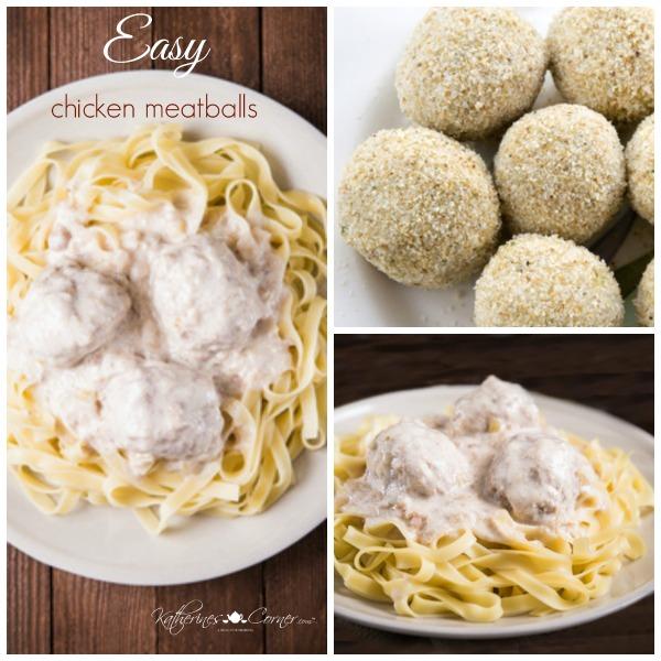 Easy Chicken Meatballs