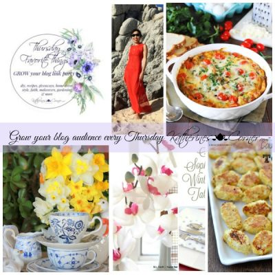 Grow Your Blog Thursday Favorite Things Blog Hop