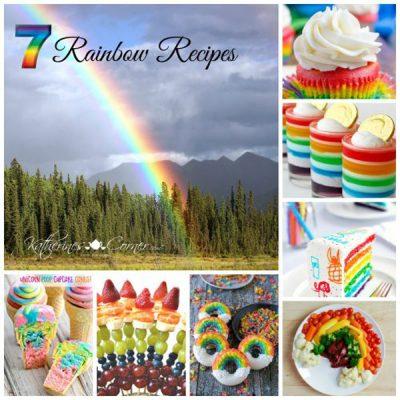 recipes that look like rainbows