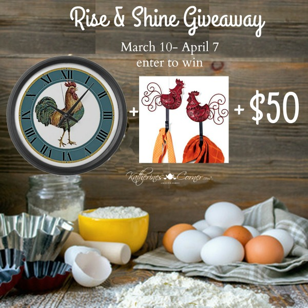 Rise and Shine Giveaway
