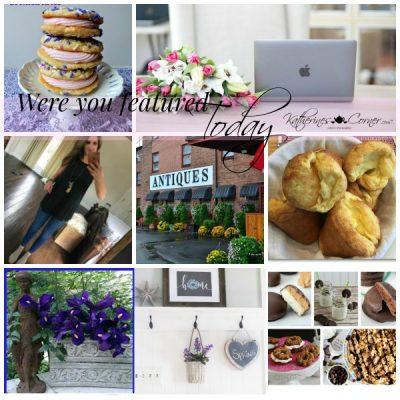 Were You Featured Thursday Blog Hop