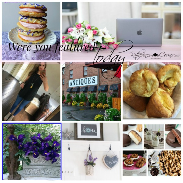 Were You Featured Thursday Blog Hop