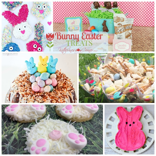 Bunny Easter Treats Monday Inspirations