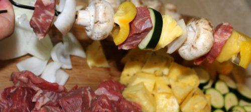 sweet and zesty steak kabobs