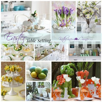 Setting Your Easter Table