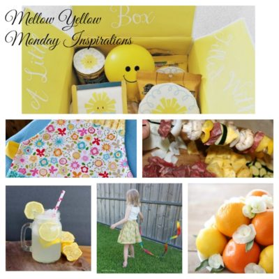 Mellow Yellow Monday Inspirations