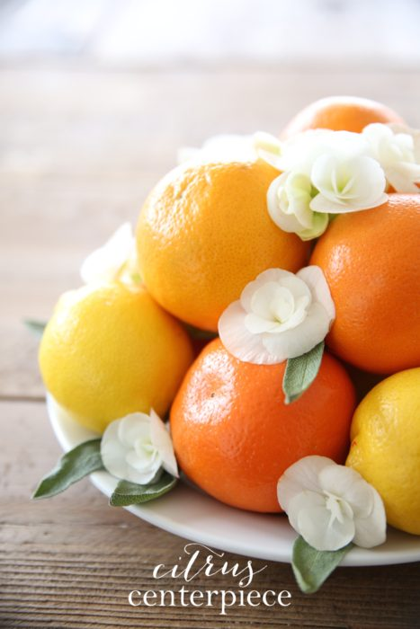 easy fruigt centerpiece perfect for summer