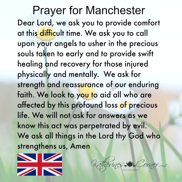 Prayer For Manchester