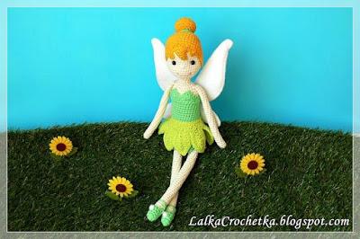 fairy crochet doll