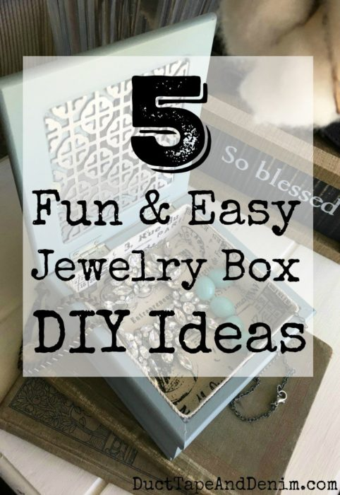 diy jewelry box makeovers