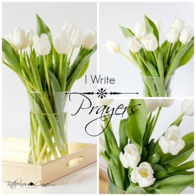 i write prayers katherines corner