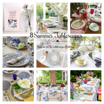 8 Summer Tablescapes to Inspire Your Tablescape Challenge
