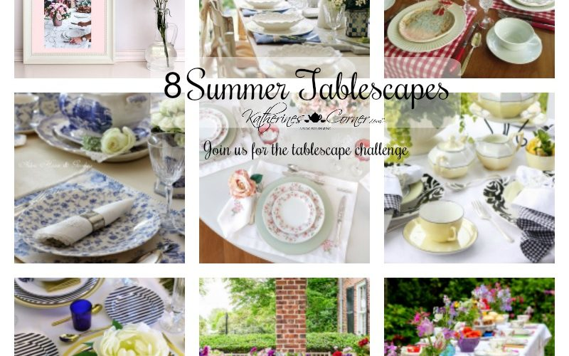 8 summer tablescapes