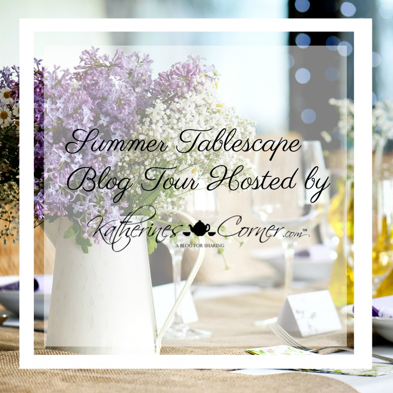 Summer Tablescape Blog Tour